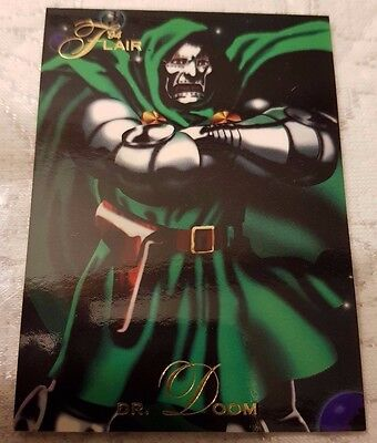 Marvel Flair #25 DOCTOR DOOM 1994 Flair Trading Card