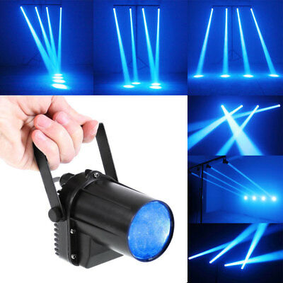 30W Beam LED Stage Light Pin Spot Blue Light DJ Party Effect Lighting Lamp US