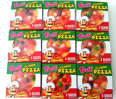 24 x 15.5g Trolli Gummi Pizza - Party Favours Lollies