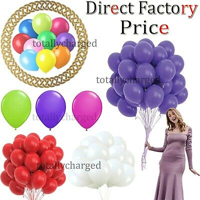 25 -100 Latex large ballons air & Helium happy birthday Party Balloons baloons
