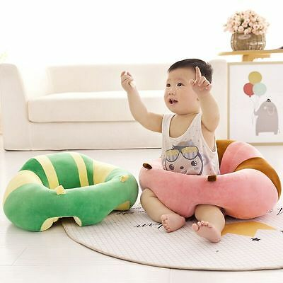 Infant Baby Kids Support Seat Soft Car Pillow Cushion Safety Sofa Plush Toys New