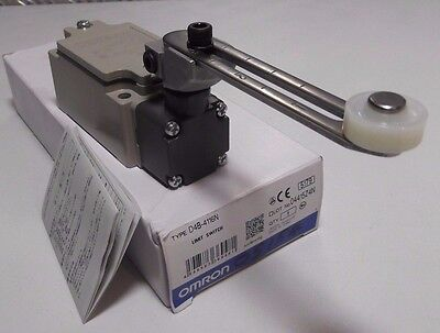 OMRON D4B-1116N Safety Limit Switch with Roller Lever Actuator 400V D4B1116N