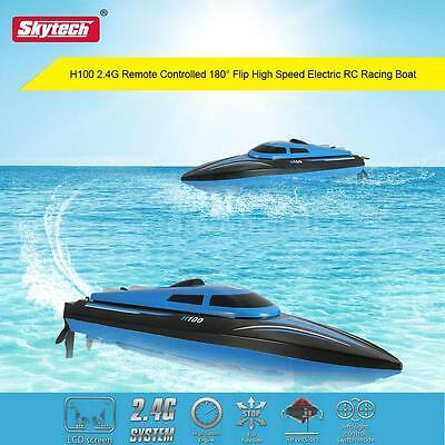 Skytech H100 2.4G Remote Controlled 180° Flip 20KM/H High Speed Electric RC Boat