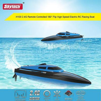 Skytech H100 2.4G Remote Controlled 180° Flip High Speed Electric RC Boat C7P2