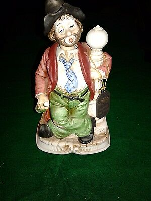 Melody In Motion Music Box (Waco Wille The Whistler) Hobo Clown