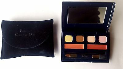 GENUINE Christian Dior Eyeshadows and Dior Addict Lipstick Mini Palette - New