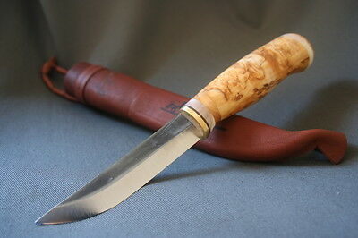 Finnish Lappi Puukko PT Bushcraft Knife Handmade in Finland