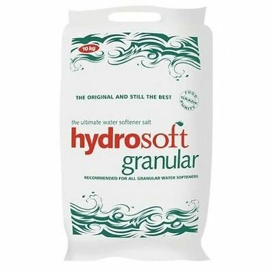 25KG x 10 | HYDROSOFT GRANULAR SALT | Water Softener Dishwasher | FCC Food Grade