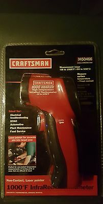 Craftsman 1000-Degree F Infrared Thermometer 34-50466 NEW