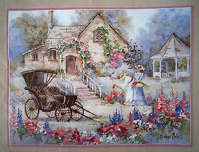 """Dimensions Crewel Embroidery Kit """"Victorian Carriage"""" 1993 New USA"""