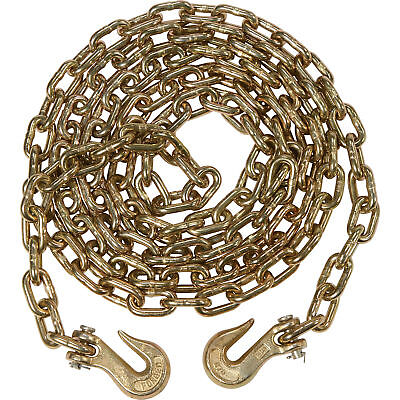 "4 pack 5/16"" x 20' G70 Tow Chain Binder Tie Down Flatbed Truck Trailer Chain"