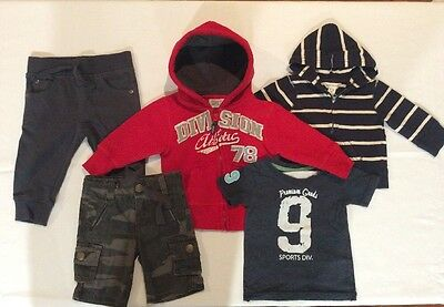 Baby Boys Size0/6-12months Bulk Cloths