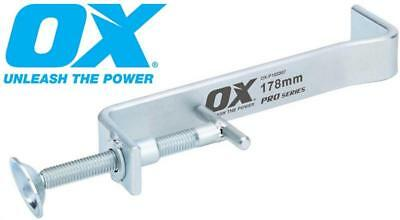 OX Pro Builders Brickwork Solid Steel Internal Profile Clamps 178mm & 300mm