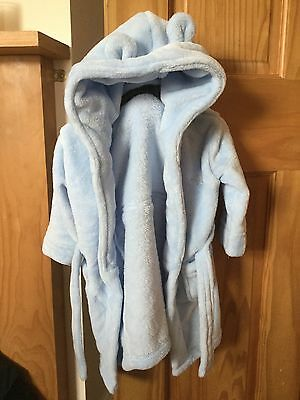 Lovely soft baby dressing gown 12-18 months
