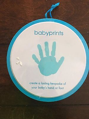 My Baby's Print Keepsake Baby Handprint Footprint Kit NWT