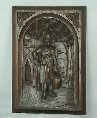US0053 breton panel masterly carved