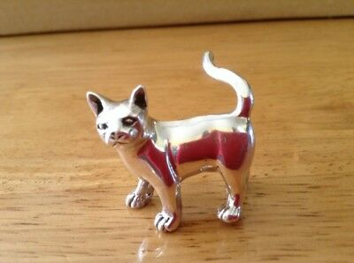 Solid Silver Cat