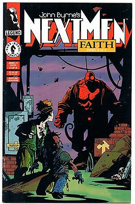 Next Men: Faith #3 1st Appearance of Hellboy! First Printing 1993 Mike Mignola