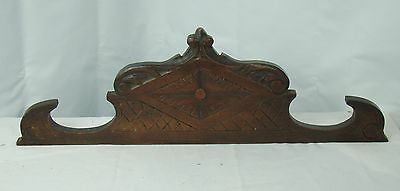 US0069 small Antique french pediment nice carvings