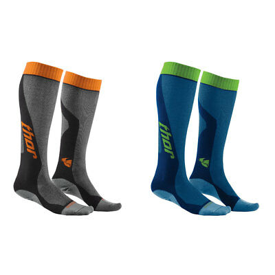 2018 Thor Youth MX Cool Socks Motocross Offroad Foot Wear - Choose Color