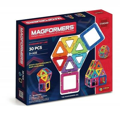 Magformers 30-Piece Construction Set Brand New