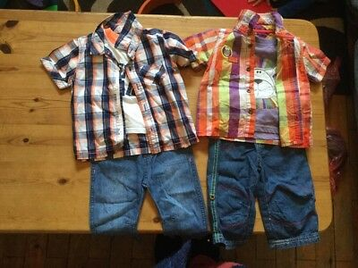 boys casual outfits age 6-9 months