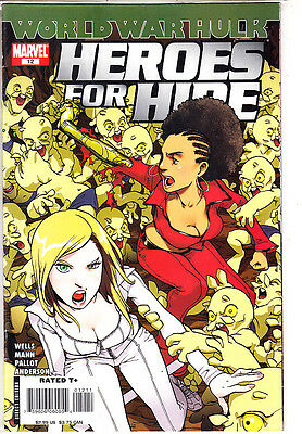 Heroes For Hire   ( Lote 7  Numeros ) Nºs.3.5.11.12.13.14.15. Marvel En Ingles.