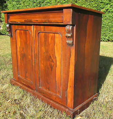 ANTIQUE ROSEWOOD CHIFFONIER REGENCY / WILLIAM IV c.1820