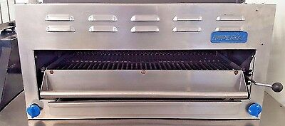 "36"" Commercial Infra Red Gas Salamander Broiler Counter Top U2800"
