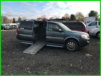 2007 Buick Terraza CX Plus VAN WHEELCHAIR HANDICAP POWER RAMP 2007 CX Plus Used 3.9L V6 12V Automatic FWD