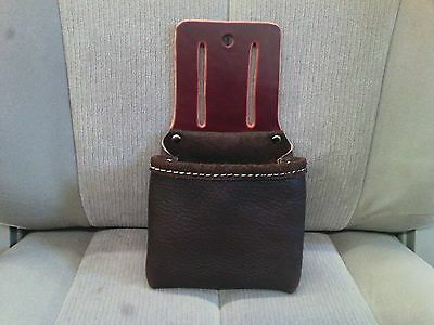 Custom Single Bag for Occidental Tool Belt-Single Leather Tool Bag Pouch
