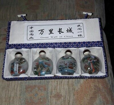 Inside painted chinese snuff bottles