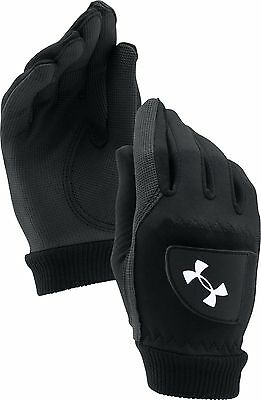 2017 Under Armour Cold Gear Thermal Winter Mens Golf Gloves - PAIR UA