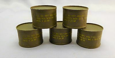 Military Ball Bearings in Tin Can 7/29/57 - Lot of 5