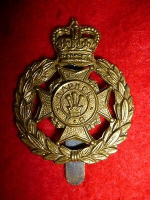 The Radnor Home Guard QC Cap Badge – Scarce Welsh Badge