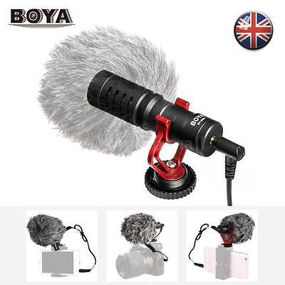 BOYA BY-MM1 Video Microphone For phone Canon Nikon DSLR Camera DV Camcorder PC