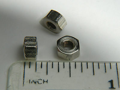 4BA Nuts, Steel, Plated, Live steam, Model Engineering, Qty 200
