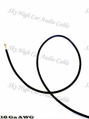 0 Gauge Awg Black Power Ground Oversized Wire Sky High Car
