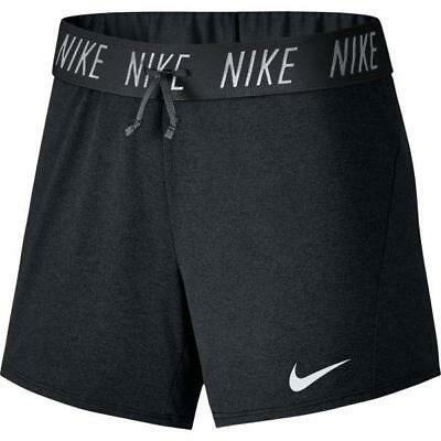 Nike Women's Dry Attack Training Heathered Shorts 918301-010 Black