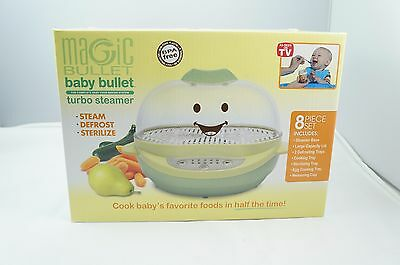 Baby Bullet Turbo Steamer 8 piece set
