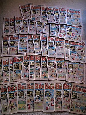 47 x Vintage Beano Comics  1978 Job Lot