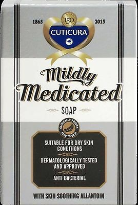 Cuticura Mildly Medicated Soap Bar 100G - Multiple Packs
