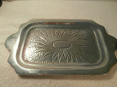 Ann Kary Collection Mexican Pewter Medium Serving Plate