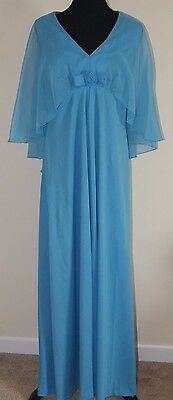 Mother of the Bride Groom Blue Gown Size 16