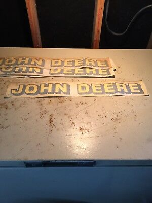 John Deere Decals Stickers