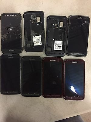 Lot Of Qty 28 Samsung Galaxy S5 Active Assorted Colors Att  Handset Only