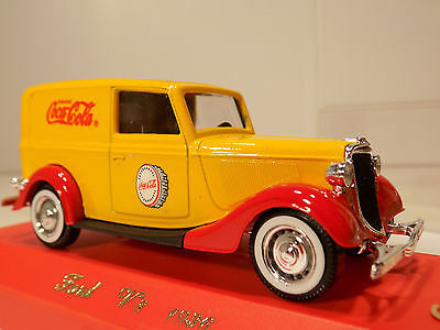 Solido Coca Cola 1936 Ford V8 die cast Metal 1/43 Made in France