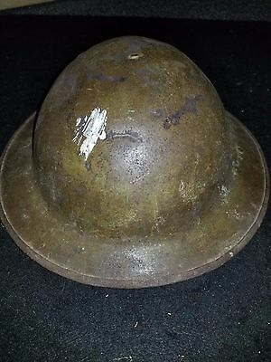 WWI Brodie Helmet Marked HS 132
