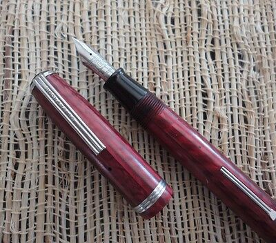 Vintage Esterbrook 9556 Fountain Pen  Burgundy color