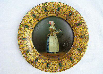 Vintage Walter Baker Co. Cocoa Advertising Plate c.1915